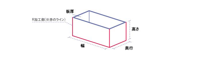 アクリル製【ACRYL WORKS】ボックス